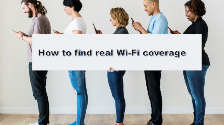 Site survey coverage results vs real site coverage - WYFI ca